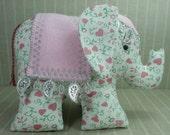 Elephant -   cotton, elephant,  plush, softie