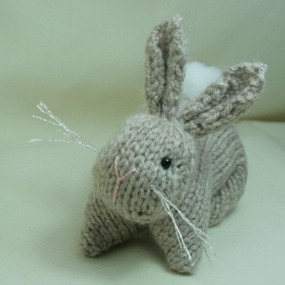 Etsy Amigurumi Bunny : Items similar to Bunny Rabbit - Hand knitted amigurumi ...