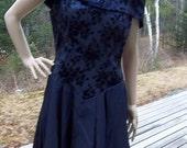 VINTAGE PURPLE PARTY Dress by Jordon, Goth, Steampunk, Prom, Spring Fashion, Wedding