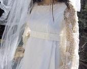 1950's WEDDING  Gown by BIANACHI, Spring Fashion wedding, Summer, Costume
