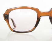 Vintage 1950s MAD MEN Eyeglasses Glasses Sunglasses HORNRIM Mens Buddy Holly Johnny Depp