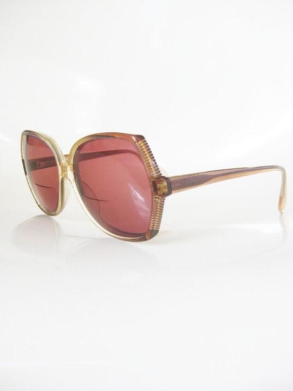 Vintage RODENSTOCK Glasses // 1970s Eyeglasses German // INDIE Hipster Sunglasses Seventies Womens Ladies