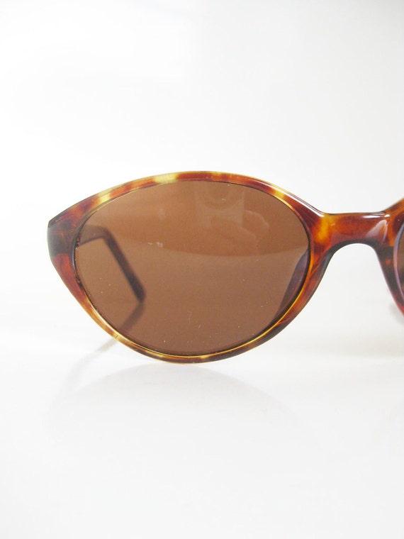 Vintage CAT EYE Glasses Eyeglasses 1980s 80s Glam GRUNGE Tortoiseshell Eighties Hipster Womens