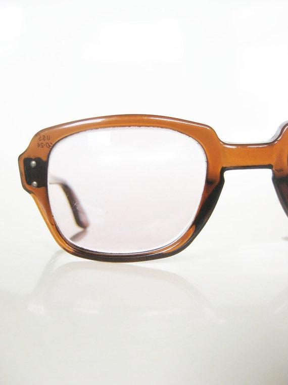 Vintage 1950s MAD MEN Eyeglasses Glasses Sunglasses HORNRIM Mens Buddy Holly Johnny Depp