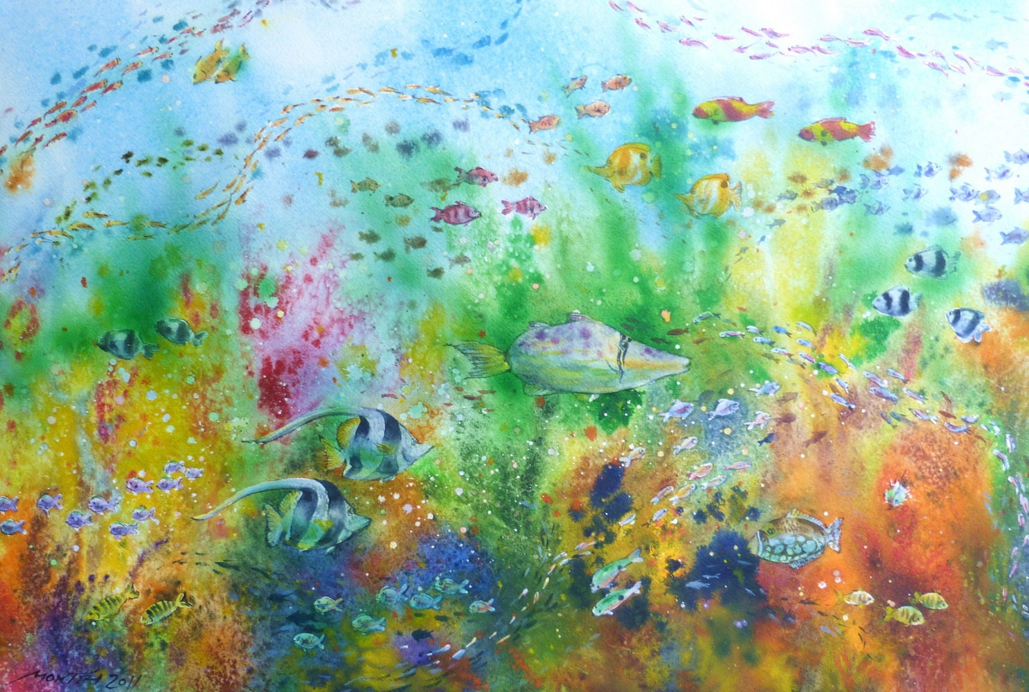 Free Shipping Ocean Sea Beach Underwater Life Original