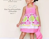 SALE Ava Pattern MODKID Girls Halter top and Pleated Skirt by Patty Young
