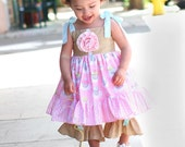 Amazing Gracie SWEET AS A CUPCAKE Party Dress Custom Order Sizes 6/12m to 18/24m