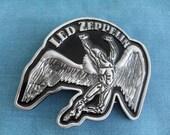 Led Zeppelin Belt Buckle Rock and Roll