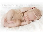 1 Organic TEA STAINED Cheesecloth Wrap...Newborn Photography Prop...36x72