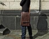 leather messenger bag Macbook Pro MINIMALIST leather macbook pro bag