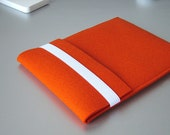 iPad Air felt sleeve ORANGE original german designer wool felt case for your iPad 1 2 3 4