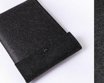 15 Macbook Pro felt case GRAPHITE german felt sleeve 13 15 inch Macbook Pro case