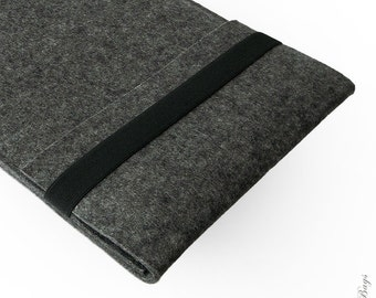 iPad Air felt sleeve case WOLF German wool felt