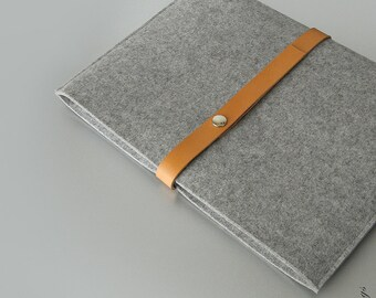 Macbook Air sleeve Macbook felt leather case