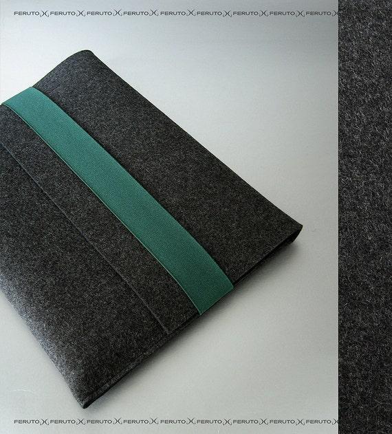 Macbook Air sleeve MacBook Air felt sleeve WOLF original german woolen felt