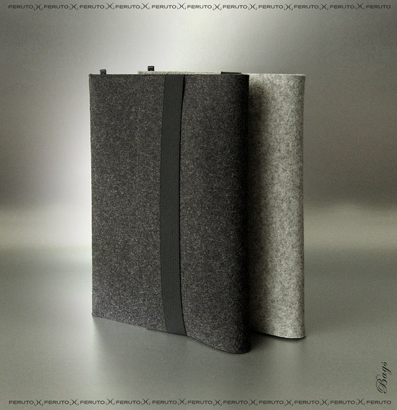 Macbook Air sleeve Mac Book Air  WOLF original german felt sleeve