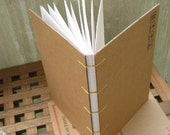 please recycle handmade journal