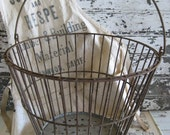 Rustic Farmhouse Egg Basket