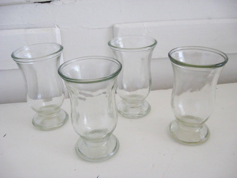 vintage juice glasses set of 4 rustic by sweetmagnoliasfarm. Black Bedroom Furniture Sets. Home Design Ideas