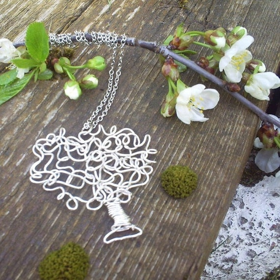 Tangled Tree Necklace
