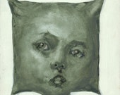 Pillow Head - 8 x 8 Print