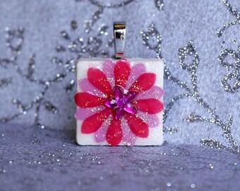 Birthday Pendant - Jewelry Pendants -  Ruby Pendant -  July Birthday -  Birthday Gifts -  FREE GIFT WRAPPING