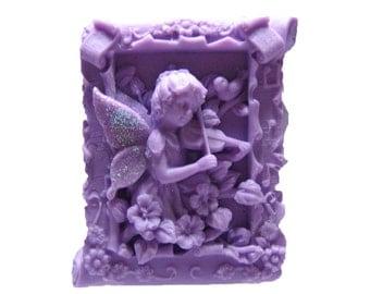 Fairy Soap - Organic Soap - Decorative Soap  - Soap -  Glycerin Soap   - Purple Soaps - Natural Soap - Fragrance Oil Lilac