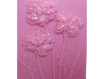 Carnations - Pink Soaps  -  Organic Soap  -  Glycerin Soap -  Moisturizing Soap - Natural Soaps -Soaps - Fragrance Oil Carnation