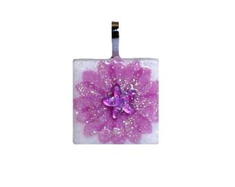 Birthstone Pendant - Jewelry Pendants - Pink  Rose Quartz Pendant  - October Birthday -  Birthday Gifts