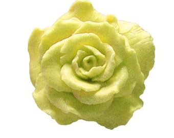 Rose Soap  - Organic Soaps - Yellow Soaps   -  Decorative Soaps  -  Soap  -  Moisturizing Soap  - Fragrance Oil Honey Almond