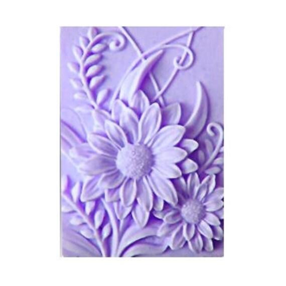 Daisy Soaps -  Organic Soaps -  Decorative  Soaps - Flower Soaps  - Glycerin Soaps - Moisturizing Soaps  - Essential Oil Lavender