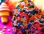 Ice Cream Necklace - Kawaii Jewelry - Candy Jewelry - Food Jewelry - Candy Sprinkle Jewelr -Cupcake Jewelry - Rainbow Jewelry