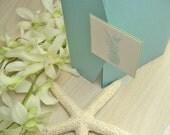 Custom Listing for Patricia - Tropical Beach Wedding Cards