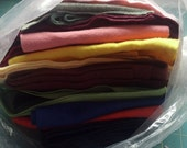 1 Pound Wool Felt -Odds & Ends-