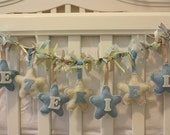 Personalized Baby and Children Name Garland - Made To Order