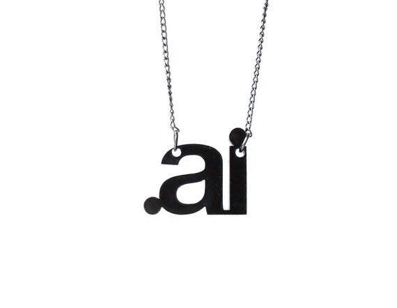 Illustrator Design Necklace