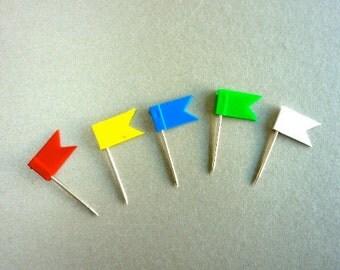 20 Flag Pins