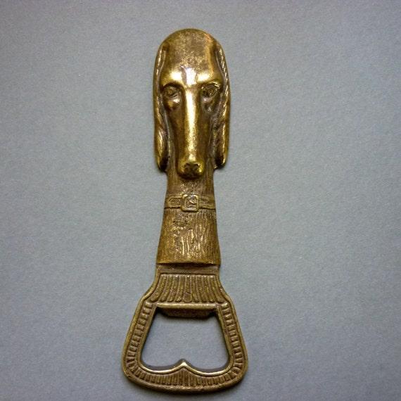 SWEET DOG Brass Bottle Opener