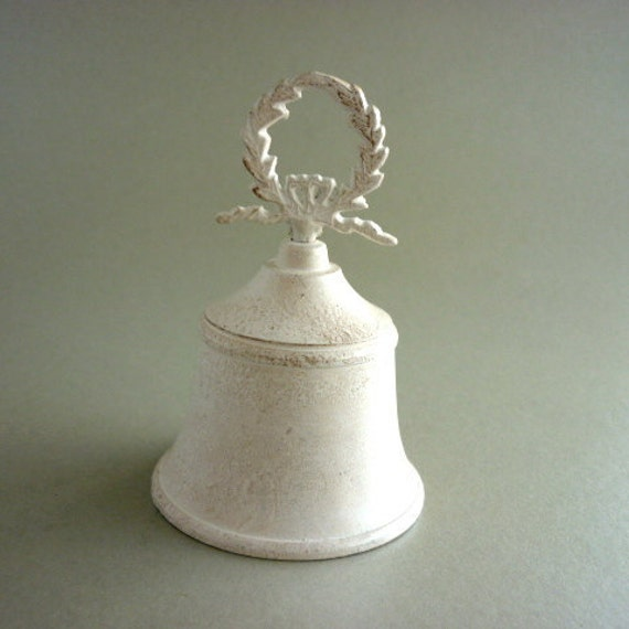 Hand Painted Brass Dinner Bell