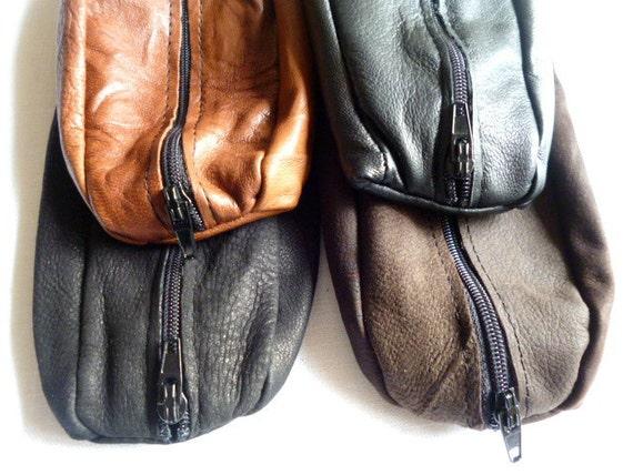 SALE Leather Pencil Cases