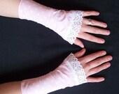 pink polkadot cuffs REDUCED