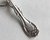 Spoon Key Chain Spoon Handle Key Ring Silveware Keychain Hanover Pattern