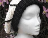 Instant Digital File pdf download knitting pattern- Superfast Spider Tam Slouch Hat pdf download knitting pattern