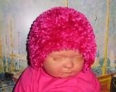 Instant Digital File PDF download knitting pattern only-madmonkeyknits Baby Fancy One Hour Beanie pdf knitting pattern