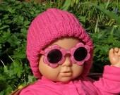 Instant Digital File pdf download Baby Simple Rib Beanie Hat pdf knitting pattern