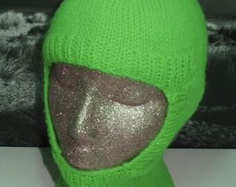 Instant Digital File PDF Download knitting pattern only- Balaclava and Beanie pdf knitting pattern
