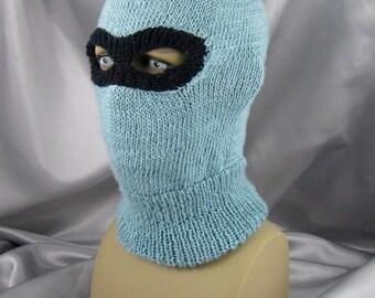 knitting pattern digital pdf download - Ski Mask Balaclava pdf download knitt...