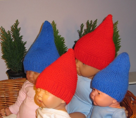 Baby Gnome Hat Knitting Pattern : Instant Digital File pdf download madmonkeyknits by ...