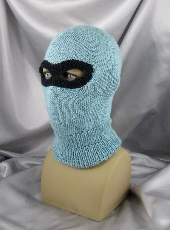 knitting pattern digital pdf download Ski Mask by madmonkeyknits