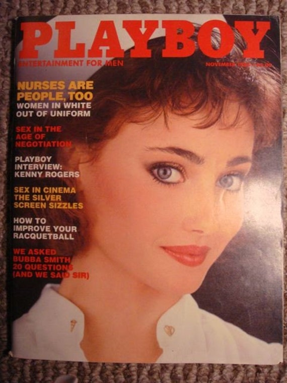 Playboy-November 1983-Veronica Gamba- Nurses